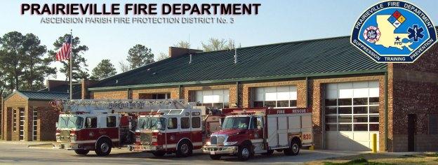 Prairieville Fire Department | Ascenion Parish Fire District # 3
