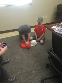Troop 65 First Aid Merit Badge Day